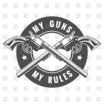 icon-with-two-crossed-revolvers-my-guns-my-rules-Download-Royalty-free-Vector-File-EPS-146348