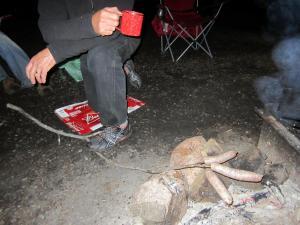 Dinner in camp 2013.